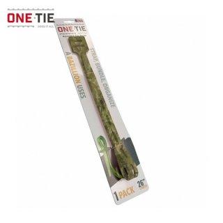 ONE-TIE 26inch (66cm) 1本パック カモ 何度も使えるギアラッピングツール 結束バンド