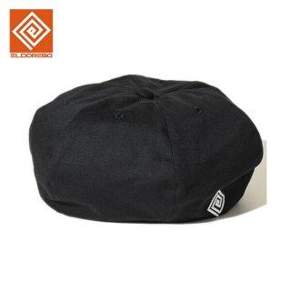 ELDORESO(エルドレッソ) Activism Beret(Black) メンズ・レディース 新しいスタイルのランニング ベレー帽