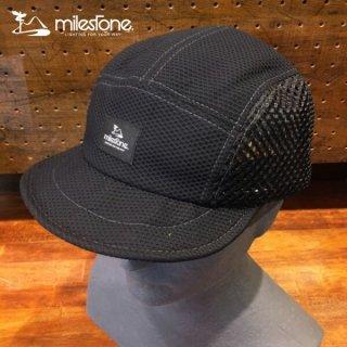 milestone(マイルストーン) original cap MSC-008 Black メンズ・レディース メッシュキャップ