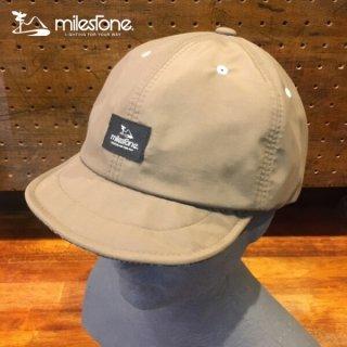 milestone(マイルストーン) original cap MSC-009 Beige メンズ・レディース タウン・アウトドアキャップ