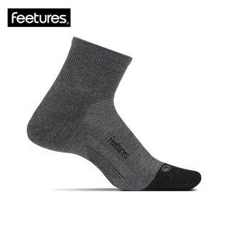 Feetures(フィーチャーズ) MERINO10 CUSHION QUARTER メンズ・レディース ランニング ミドルソックス