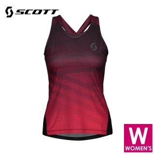 SCOTT(スコット) TRAIL RUN WOMEN'S TANK レディース ドライ ノースリーブシャツ