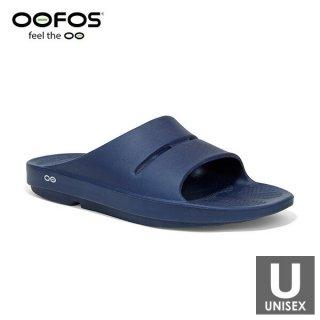 OOFOS(ウーフォス) 【国内正規品】OOahh - 04 Navy メンズ・レディース リカバリーサンダル(シャワーサンダ