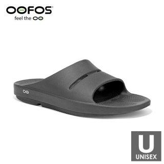 OOFOS(ウーフォス) 【国内正規品】OOahh - 20 Black メンズ・レディース リカバリーサンダル(シャワーサン