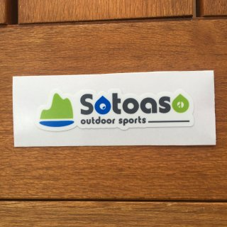 Sotoaso ソトアソ オリジナル ロゴステッカー (カラー)