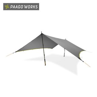PaaGo WORKS パーゴワークス NINJA TARP(ニンジャタープ) ザックに忍ばせるマルチタープ