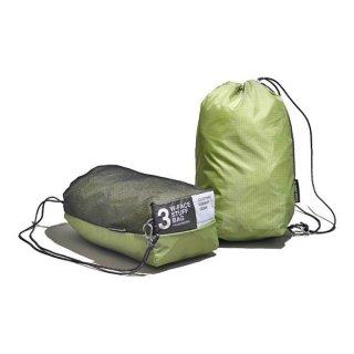 PaaGo WORKS パーゴワークス W-FACE STUFF BAG 3 日常から非日常まで365日使えるスタッフバッグ(3L)