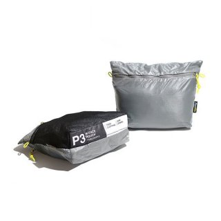 PaaGo WORKS パーゴワークス W-FACE POUCH 3 日常から非日常まで365日使えるスタッフバッグ・ポーチ(3L)