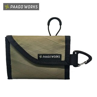 PaaGo WORKS パーゴワークス TRAIL BANK-M スマートな使い勝手のコンパクトな財布