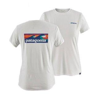 patagonia パタゴニア キャプリーン・クール・デイリー・グラフィック・シャツ レディース 半袖Tシャツ