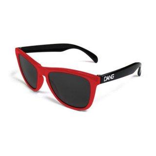 DANG SHADES ORIGINAL ORIGINAL Red / Black Gloss × Black スポーツサングラス