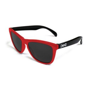 DANG SHADES ORIGINAL ORIGINAL Red / Black Gloss × Black スポーツサングラス