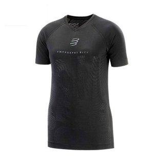 ★COMPRESSPORT(コンプレスポーツ) Training Tshirt SS W - Black Edition 2020 レディース ドライ半袖Tシ