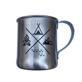 efim(エフィム) BOUNDARY LINE ステンレスマグカップ ステンレス製のマグカップ