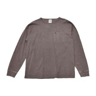 ROKX(ロックス) L/S MG POCKET TEE(ロングスリーブ エムジー ポケットTシャツ) メンズ オーバーサイズ長袖シャツ