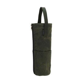 asobito(アソビト) ボトルバッグ シングル 水筒やボトル・瓶を持ち運べる防水帆布ボトルバッグ