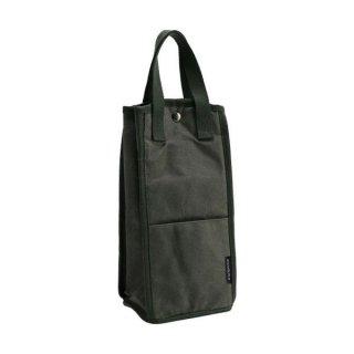 asobito(アソビト) ボトルバッグ ダブル 水筒やボトル・瓶を2本持ち運べる防水帆布ボトルバッグ