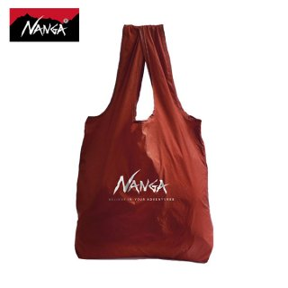 NANGA(ナンガ) POCKETABLE ECOBAG(ポケッタブルエコバッグ) 寝袋モチーフの超軽量コンパクトなエコバッグ