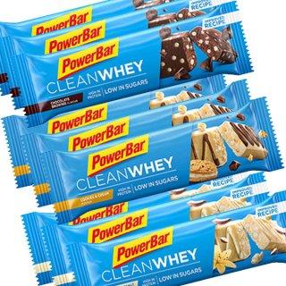 【PowerBar】クリーンホエイ(プロテイン)  9本セット(バニラココナッツクランチ×3、チョコレートブラウニー×3、クッキー&クリーム×3)