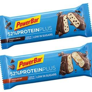 【PowerBar】52%プロテインプラス  お試し2本セット(チョコレートナッツ×1、クッキー&クリーム×1)