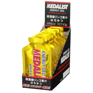 MEDALIST(メダリスト) エナジージェル リンゴとはちみつ 1箱(12個入り)