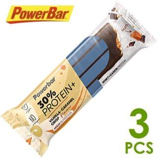 【PowerBar】パワーバー 30%プロテインプラス バニラキャラメルクリスプ 3本
