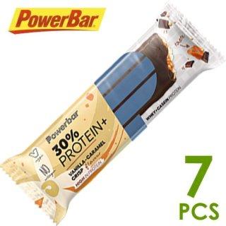 【PowerBar】パワーバー 30%プロテインプラス バニラキャラメルクリスプ 7本