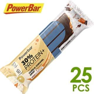 【PowerBar】パワーバー 30%プロテインプラス バニラキャラメルクリスプ 25本