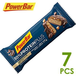 【PowerBar】パワーバー 30%プロテインプラス カップチーノキャラメルクリスプ 7本
