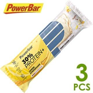 【PowerBar】パワーバー 30%プロテインプラス レモンチーズケーキ 3本
