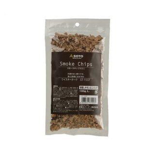 SOTO(ソト) スモークチップスミニ ウイスキーオーク 保管しやすいミニパックの燻製チップ