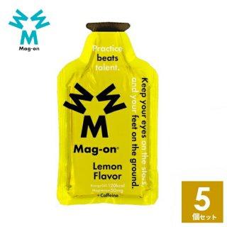 Mag-on (マグオン) レモン味 5個 【トレイルランニング トレラン ランニング 行動食 補給食 健康食 おいしい マラソン】