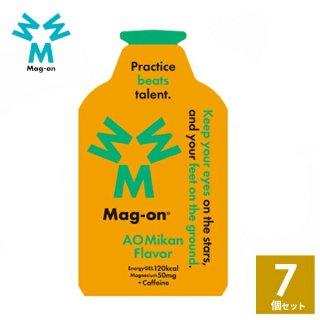 Mag-on (マグオン) 青みかん味 7個 【トレイルランニング トレラン ランニング 行動食 補給食 健康食 おいしい マラソン】