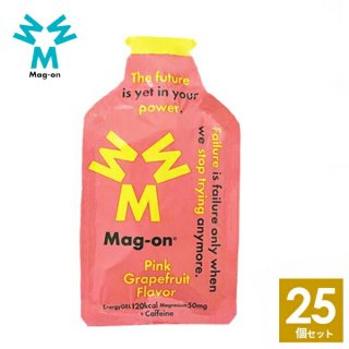 Mag-on (マグオン) ピンクグレープフルーツ味 25個 【トレイルランニング トレラン ランニング 行動食 補給食 健康食 おいしい マラソン】