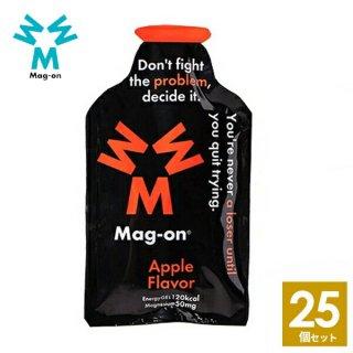 Mag-on (マグオン) リンゴ味 25個 【トレイルランニング トレラン ランニング 行動食 補給食 健康食 おいしい マラソン】