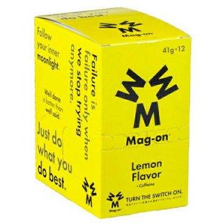 Mag-on (マグオン) エナジージェル レモン味 1箱(12個) 【トレイルランニング トレラン ランニング 補給食 健康食 おいしい エナジーバー 】