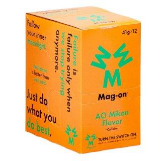 Mag-on (マグオン) エナジージェル 青みかん味 1箱(12個) 【トレイルランニング トレラン ランニング 補給食 健康食 おいしい エナジーバー 】