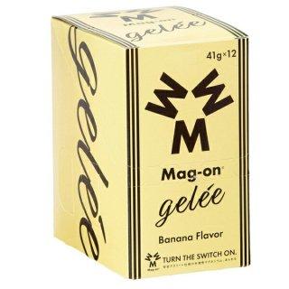 Mag-on (マグオン) エナジージェル バナナ味 1箱(12個) 【トレイルランニング トレラン ランニング 補給食 健康食 おいしい エナジーバー 】