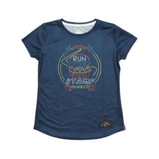 STAMP RUN&CO(スタンプ ランアンドシーオー) STAMP WOMENS GRAPHIC RUN TEE 半袖Tシャツ