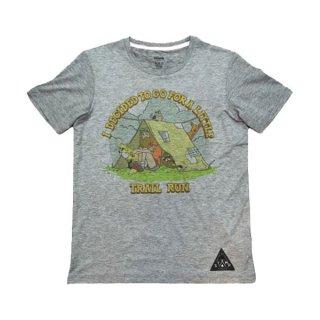 STAMP RUN&CO(スタンプ ランアンドシーオー) STAMP DAILY TEE(Life in the woods) ドライ半袖Tシャツ