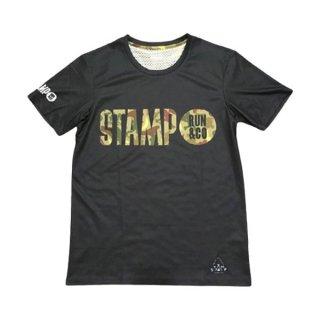STAMP RUN&CO(スタンプ ランアンドシーオー) STAMP GRAPHIC RUN TEE ドライ半袖Tシャツ