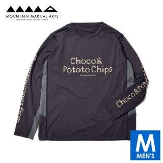 MMA マウンテンマーシャルアーツ Choco&Potatochips Long Sleeve Tee メンズ ドライ長袖シャツ