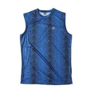 ELDORESO(エルドレッソ) Cierpinski Sleeveless T(Blue) メンズ・レディース ノースリーブシャツ