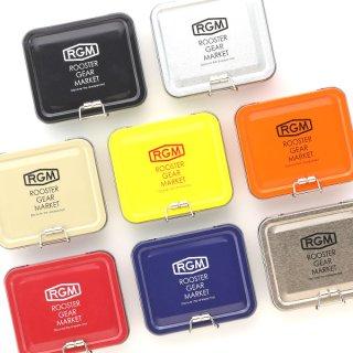RGM(ROOSTER GEAR MARKET) TIN CASE 餌入れ 缶ケース 物入れ 便利 川釣り  テンカラ 初心者 釣り具 フィッシング キャンプ アウトドア