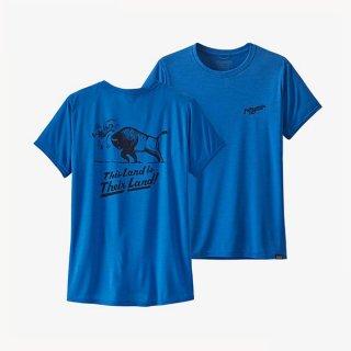patagonia(パタゴニア) キャプリーン・クール・デイリー・グラフィック・シャツ レディース 半袖Tシャツ