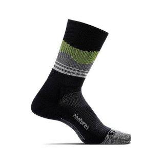 Feetures(フィーチャーズ) ELITE LIGHT CUSHION MINI CREW ランニング ミドル丈ランニングソックス