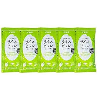 ライスピュレ (スポーツ用)青梅味 5袋セット 【トレイルランニング トレラン ランニング 行動食 補給食 健康食 おいしい マラソン】