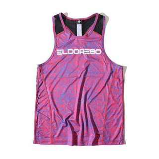 ELDORESO(エルドレッソ) Earnest Tank(Pink) メンズ・レディース ノースリーブシャツ