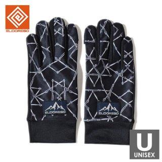 ELDORESO(エルドレッソ) Cierpinski Gloves(Black) メンズ・レディース ランニンググローブ