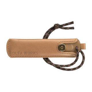 OLFA(オルファ) BK レザーケース 替刃式ブッシュクラフトナイフ BK1専用の天然皮革のレザーケース
